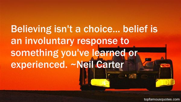 Neil Carter Quotes
