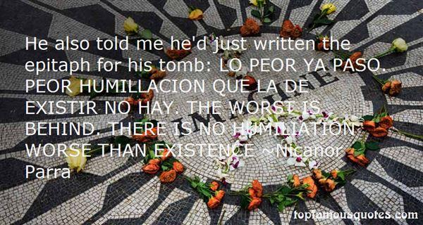 Nicanor Parra Quotes
