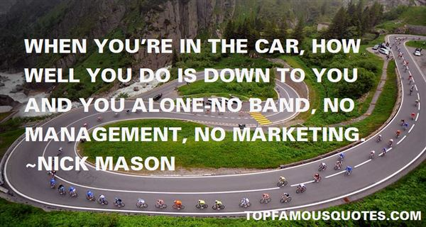 Nick Mason Quotes