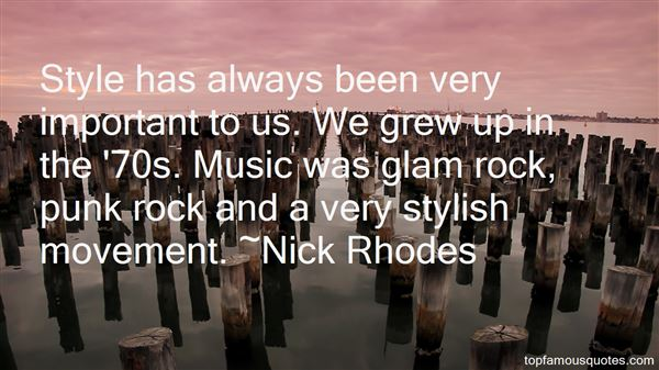 Nick Rhodes Quotes