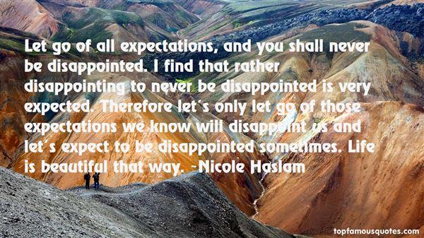 Nicole Haslam Quotes