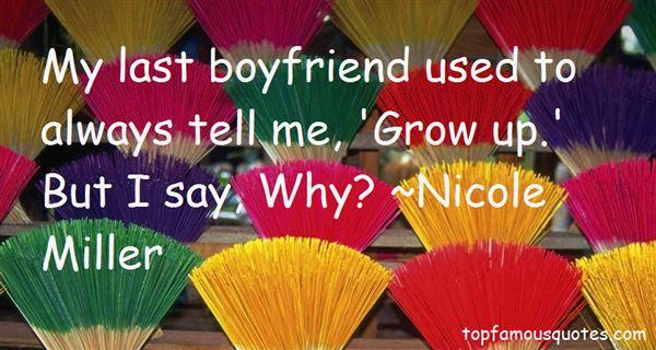 Nicole Miller Quotes