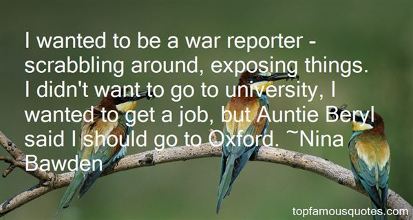 Nina Bawden Quotes