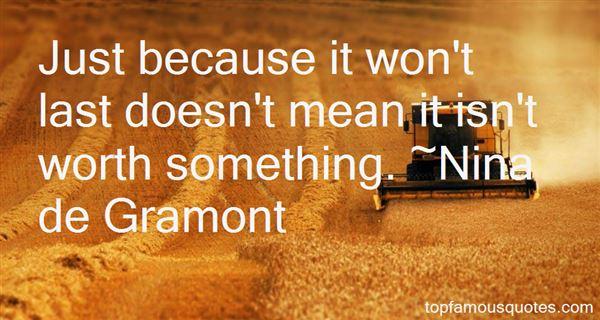Nina De Gramont Quotes