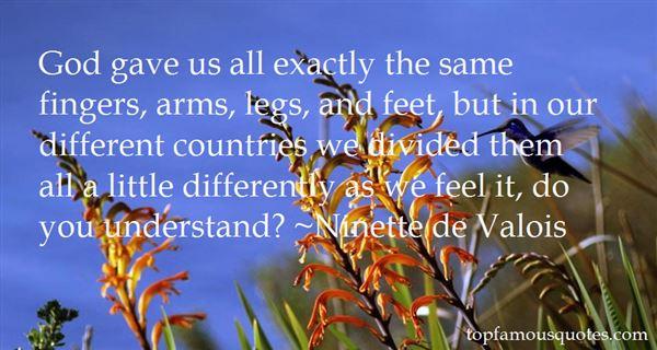 Ninette De Valois Quotes