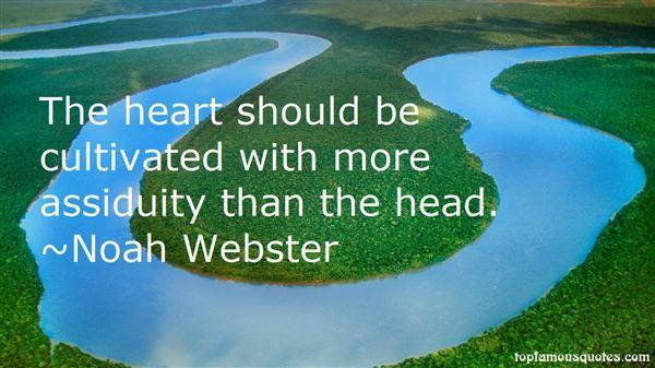 Noah Webster Quotes