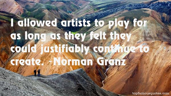 Norman Granz Quotes