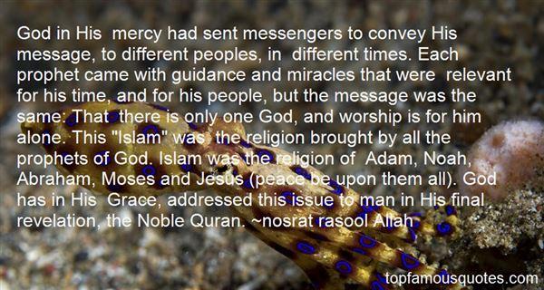 Nosrat Rasool Allah Quotes