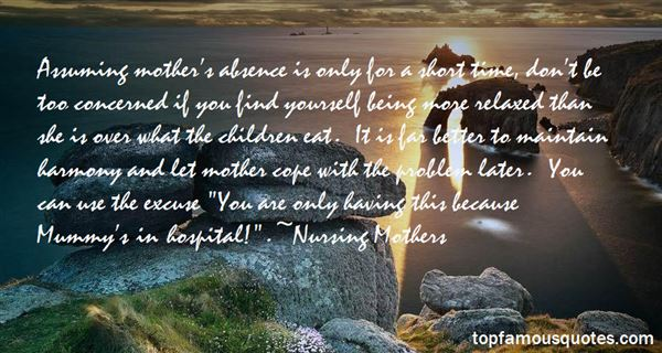 Nursing Mothers Quotes