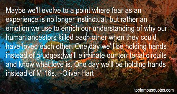 Oliver Hart Quotes