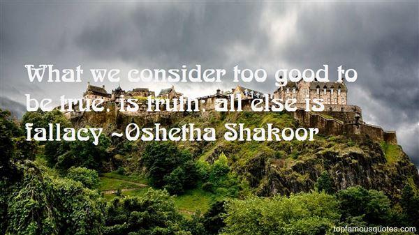 Oshetha Shakoor Quotes