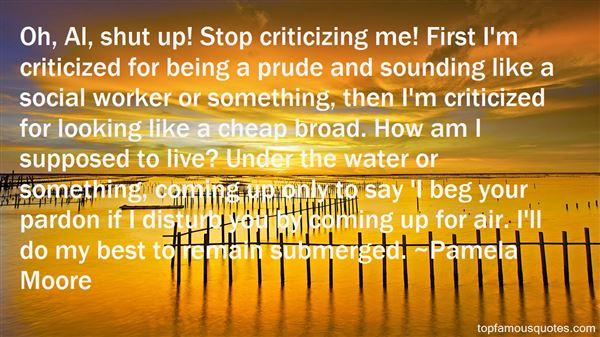 Pamela Moore Quotes