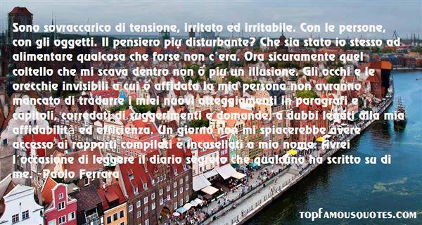 Paolo Ferrara Quotes