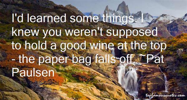 Pat Paulsen Quotes