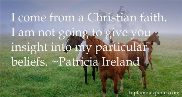 Patricia Ireland Quotes