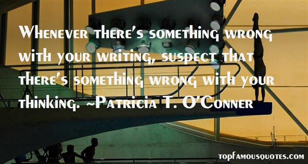 Patricia T. O'Conner Quotes