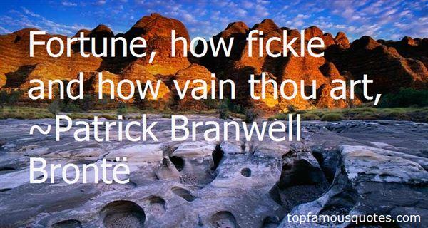 Patrick Branwell Brontë Quotes