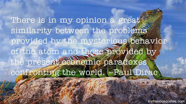 Paul Dirac Quotes