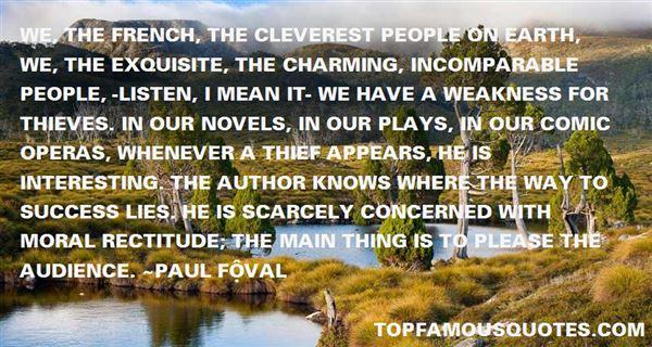 Paul Féval Quotes