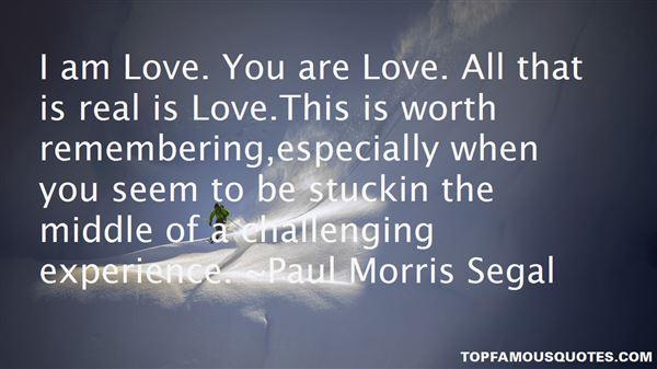 Paul Morris Segal Quotes