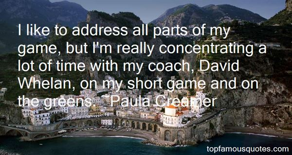 Paula Creamer Quotes