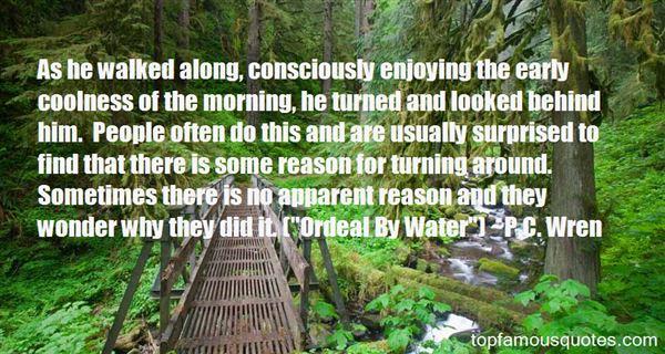 P.C. Wren Quotes