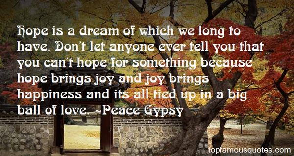 Peace Gypsy Quotes