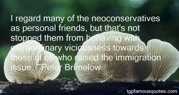 Peter Brimelow Quotes