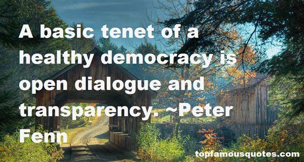 Peter Fenn Quotes