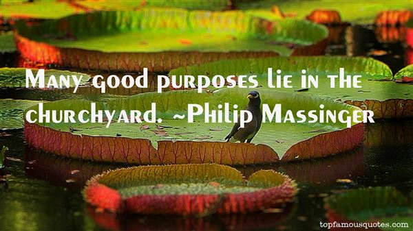 Philip Massinger Quotes