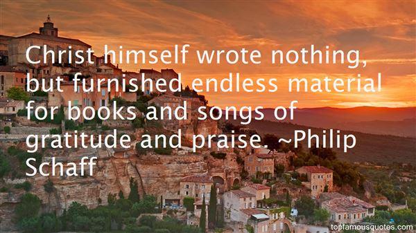 Philip Schaff Quotes