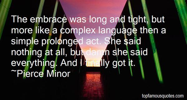 Pierce Minor Quotes