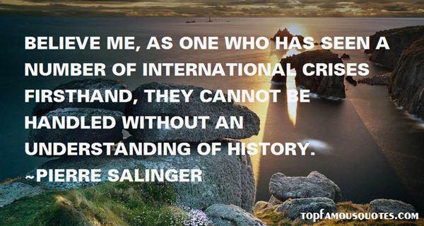 Pierre Salinger Quotes