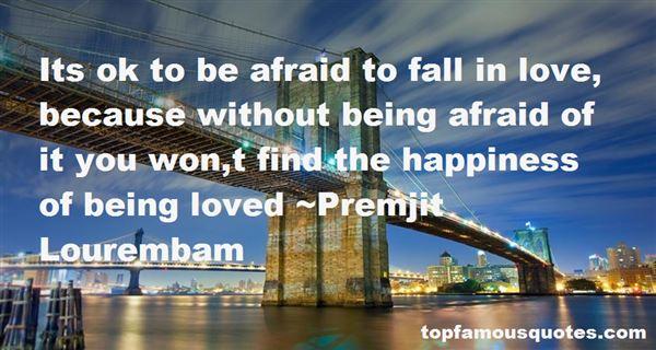 Premjit Lourembam Quotes