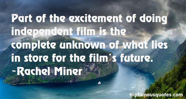 Rachel Miner Quotes