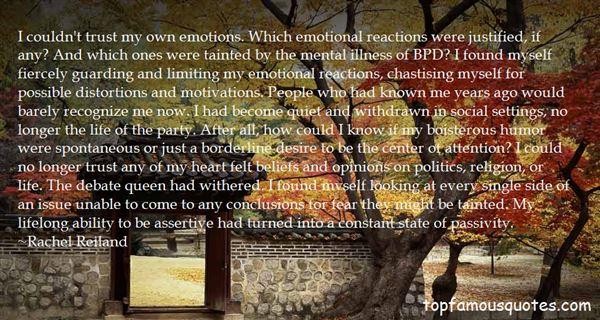 Rachel Reiland Quotes