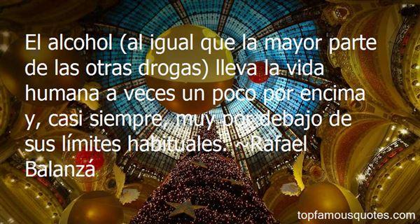 Rafael Balanzá Quotes
