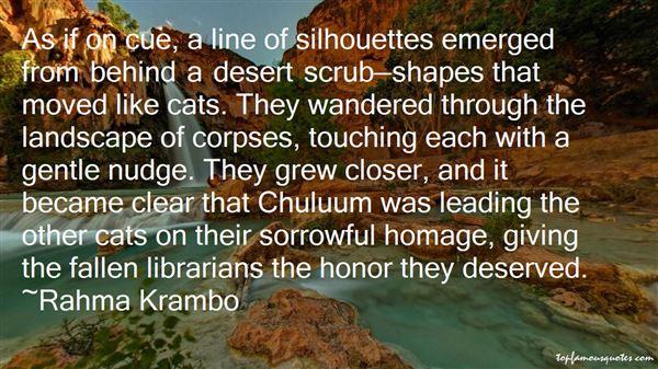 Rahma Krambo Quotes