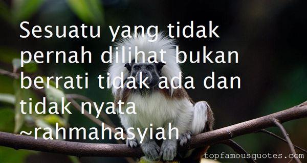 Rahmahasyiah Quotes