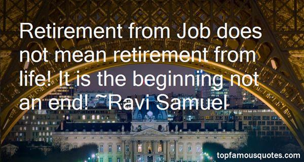 Ravi Samuel Quotes
