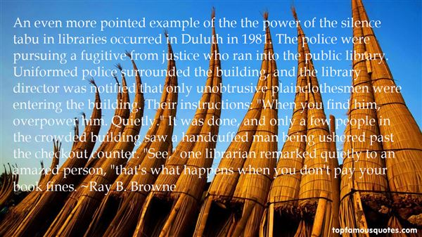 Ray B. Browne Quotes