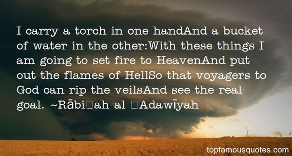 Rābiʻah Al ʻAdawīyah Quotes