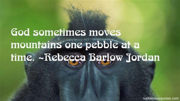 Rebecca Barlow Jordan Quotes