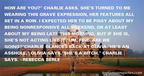 Rebecca Serle Quotes