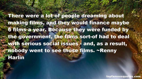 Renny Harlin Quotes