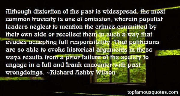 Richard Ashby Wilson Quotes