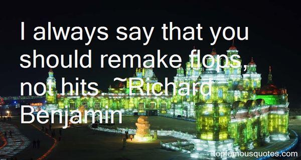 Richard Benjamin Quotes