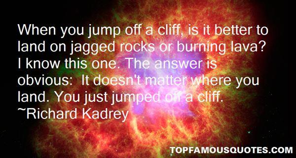Richard Kadrey Quotes
