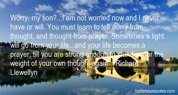 Richard Llewellyn Quotes