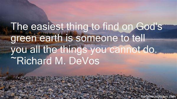 Richard M. DeVos Quotes